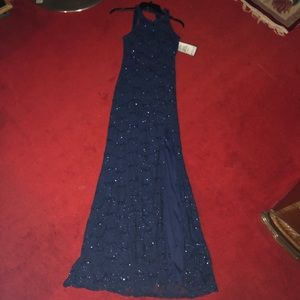 Dresses & Skirts - Navy Blue Prom Dress Size 3/4 New With Tags